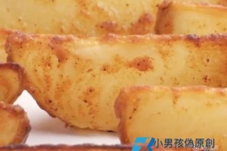 奥尔良烤薯角的制作方法