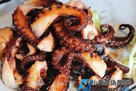 奥尔良烤章鱼脚的制作方法