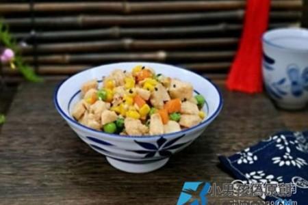 彩蔬奥尔良炒鸡丁的制作方法